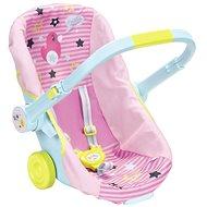 BABY Born Prenosná sedačka na kolieskach - Doplnok pre bábiky