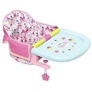BABY Born Jedálenská stolička s uchytením na stôl - Doplnok pre bábiky