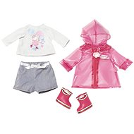 BABY Annabell Súprava do dažďa s čižmami - Doplnok pre bábiky