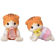 Sylvanian Families Baby Dvojčatá mačiatka Javorových mačiek - Herná sada