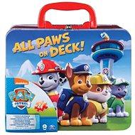 Tlapková Patrola 2x puzzle v plechovém kufříku