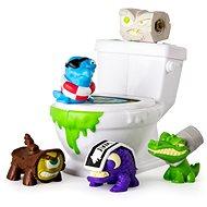 Flush Force 5 ks + záchod - Figúrky