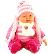 Bábätko dievčatko - ružové - Bábika