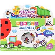 Penové magnety Dopravné prostriedky - Magnet