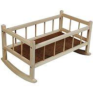 Drevená kolíska - Nábytok pre bábiky