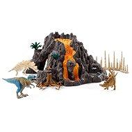 Schleich 42305 Velká sopka - Herný set