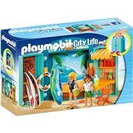 Playmobil 5641 Box na hranie Obchod s potrebami na surfovanie - Stavebnica