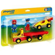 Playmobil 6761 Pretekárske auto s prívesom na prepravu - Stavebnica