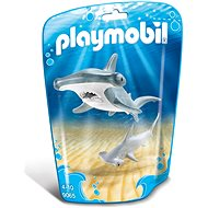 Playmobil 9065 Žralok s mláďaťom - Stavebnica
