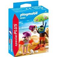 Playmobil 9085 Deti a hrad z piesku - Stavebnica