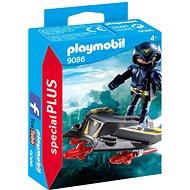 Playmobil 9086 Sky Knight a lietadlo - Stavebnica
