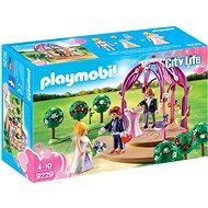 Playmobil 9229 Svadobný pavilón s nevestou a ženíchom - Stavebnica