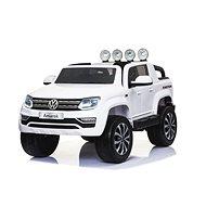 Volkswagen Amarok biele - Detské elektrické auto