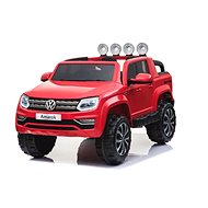 Volkswagen Amarok červené – lak - Detské elektrické auto
