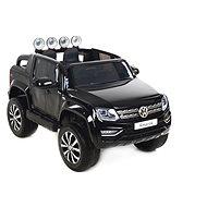 Volkswagen Amarok čierne – lak - Detské elektrické auto