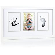 Pearhead Three-sided Imprints in White - Photo Frame