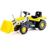 DOLU Veľký šliapací traktor s rýpadlom - Šliapací traktor
