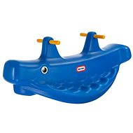 Little Tikes Hojdačka veľryba – modrá