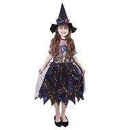 Čarodejnica farebná veľ. S - Detský kostým