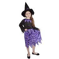 Čarodejnica fialová veľ. M - Detský kostým