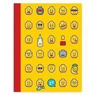 LEGO Iconic Zošit žltý - Poznámkový blok