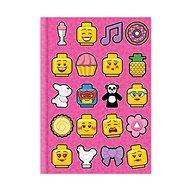 LEGO Iconic Denník – ružový - Zápisník