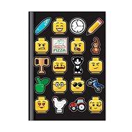 LEGO Iconic Denník – čierny - Zápisník
