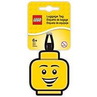 LEGO Iconic Menovka na batožinu - Hlava chlapca - Menovka na batožinu