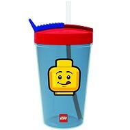LEGO Iconic Classic červeno-modrá - Fľaša na vodu