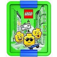 Desiatový box LEGO Iconic Boy zeleno-modrý - Svačinový box