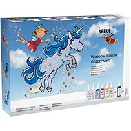 5e603604c Kreul Barvy na sklo Window Color Glitter Fantasy - Kreatívna súprava