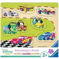 Ravensburger 036868 Disney Autá 3 rodina - Puzzle