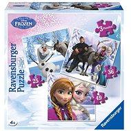 Ravensburger 072767 Disney Ľadové kráľovstvo Anna, Elsa a ich priatelia - Puzzle