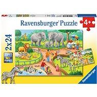 Ravensburger 78134 Deň v zoo - Puzzle