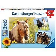 Ravensburger 80113 Sladké kone - Puzzle