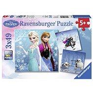Ravensburger 92642 Disney Ľadové kráľovstvo: dobrodružstvo na snehu