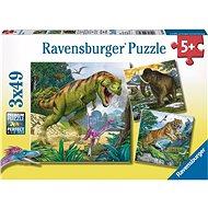 Ravensburger 93588 Dinosaury a čas - Puzzle