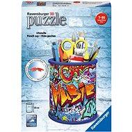 Ravensburger 3D 121090 Stojan na ceruzky Graffiti - 3D puzzle