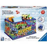 Ravensburger 3D 121113 Úložná krabica Graffiti - 3D puzzle