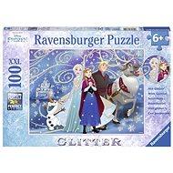 Ravensburger 136100 Disney Ľadové kráľovstvo trblietajúci sa sneh - Puzzle