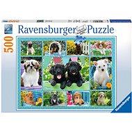 Ravensburger 147083 Roztomilé šteniatka - Puzzle