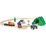 Brio World 33878 Vláčikodráha štartovacia súprava nákladný vlak - Stavebnica