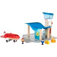 Brio World 33883 Letisko s kontrolnou vežou - Stavebnica
