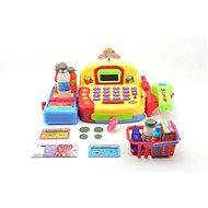 Pokladňa digitálna s doplnkami - Vzdelávacia hračka