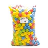 Dolu Farebné plastové loptičky – 500 ks - Loptičky