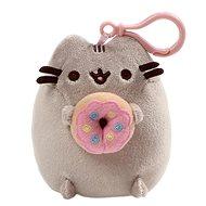 Pusheen clip donut - Kľúčenka