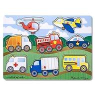 Dopravné prostriedky - Drevené Puzzle