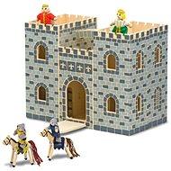 Prenosný skladací hrad - Herná súprava
