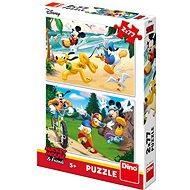 Mickey športuje - Puzzle
