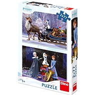 Frozen: Vianoce - Puzzle